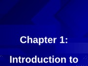 Chapter 1 to post.ppt