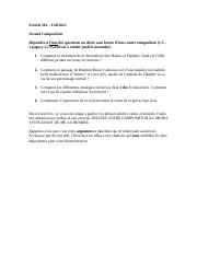 Can someone proof check this (its a french essay)?