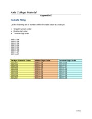 Checkpoint Numeric Filing