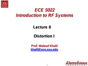Lect8_ Distortion I