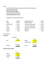 LCSX Unit 7 basic accounting assignment Template
