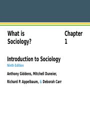 Chapter 1 what is sociology.ppt
