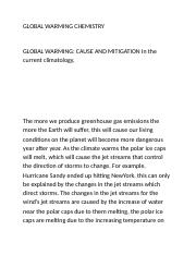 GLOBAL WARMING CHEMISTRY.docx