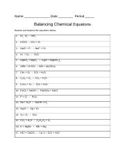 balancing chemical equations worksheet.docx