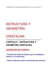 La Estructura Cristalina Hexagonal Compacta No Todos Los