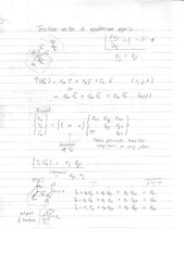 Traction Vector and Equilibrium Equation Notes