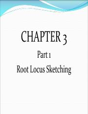 Chapter 3a-Root Locus Sketching