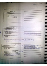 Educational Psychology Class Notes Chapter 5 Notes