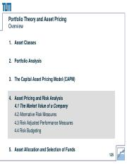 4 Asset Pricing and Risk Analysis