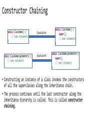 inheritanceANDpolymorphism2 (week 1) pdf - Constructor