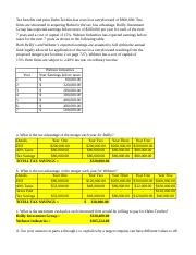 Finance 450 Module 7 Problems with Corrections