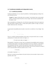1.02 Conditional probability and independent events