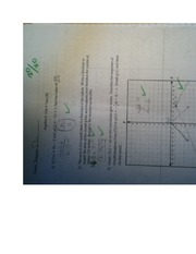 Algebra 2 Unit 4 Test