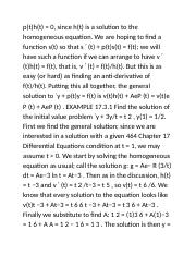 17 Differential Equations (Page 27-28)