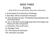 Extinction+-+Week+3+-+Lec+2