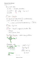 PHYS 11 Isolated Friction Notes