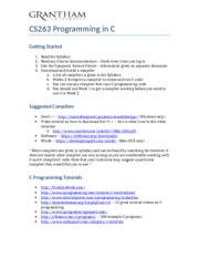 CS263_Overview_Weeks1-7