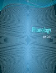 Lecture powerpoint (Phonology)(2) (1)