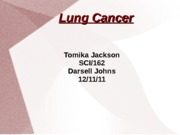 Lung Cancer PPT
