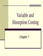 chapter 7 -Variable Costing.ppt