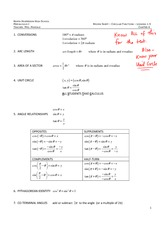 Circular Functions Problems Solutions