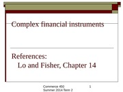 Ch14_Complex Financial Instruments