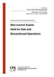 hkfrs5 non-current asset held for sale and discontinued operations