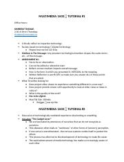 MULTIMEDIA 1A03 → TUTORIAL NOTES.docx