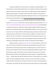Speak Essay