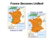 Chapter 9-France Becomes Unified