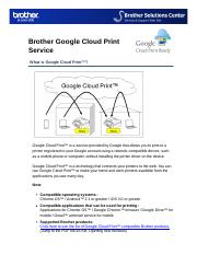 Brother: Brother Google Cloud Print Service.pdf