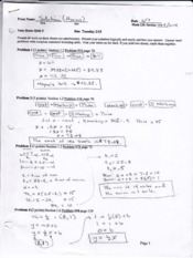 Solution Quiz 3 page 1 harris