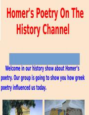 Homer's Poetry.pptx