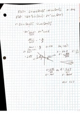 Class Notes derivative solution