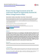Separately Excited DC using passive filter.pdf