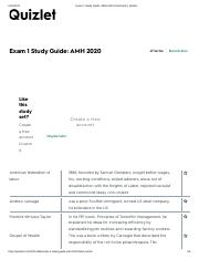 Exam 1 Study Guide Amh 2020 Flashcards Quizlet Pdf Exam