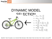 Dynamic Model - Team Suicycle