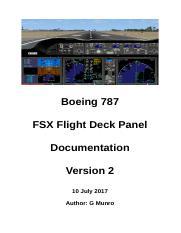 Readme txt - FSX Manual/Checklist Default Boeing 737-800
