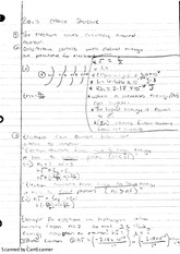 Bohr's Atomic Structure Class Notes