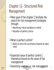 Ch 11- Risk Management and the Value of Information.pptx