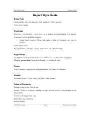Report-and-reference-Style-Guide