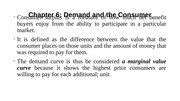 Chapter 6-Demand and the Consumer