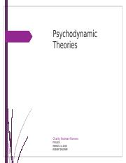 psychodynamic theories brochure Theoretical orientation: psychodynamic solution-focused  meditation yoga  applications of attachment theory integrative approaches to psychotherapy.