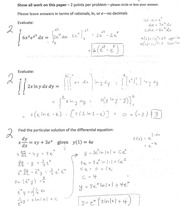 MAC2234 worksheet 5