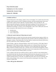 150016665_Karanvir Singh_Project Brief Document