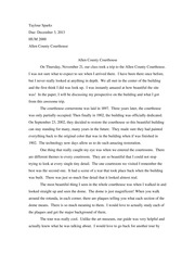 Allen County Courthouse Essay