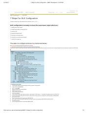 7 Steps For ALE Configuration - ABAP Development - SCN Wiki.pdf