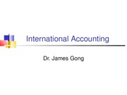 day 24  international accounting 2009 spring v2