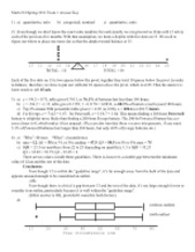 EXAM 1 solutions (spring 2011)