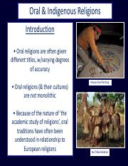 #2_Oral Traditions
